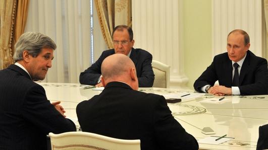 Kerry/Putin Talks