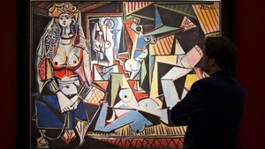 The painting, entitled 'Women of Algiers' sold at Christie's in New York for $179 million