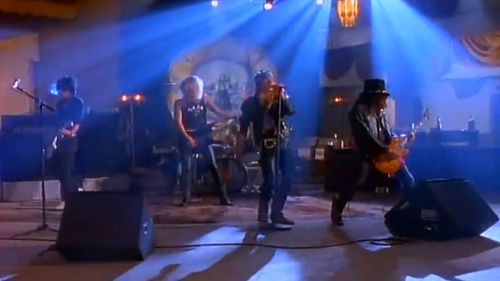 Guns N' Roses in their heyday