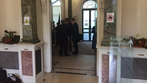 The talks adjourned after 15 minutes of preliminary discussions