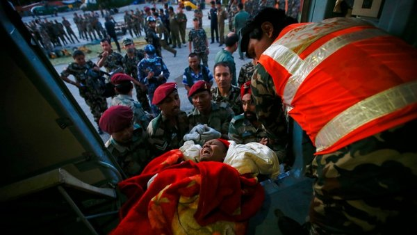 Hundreds of people were injured in the latest earthquake to hit Nepal