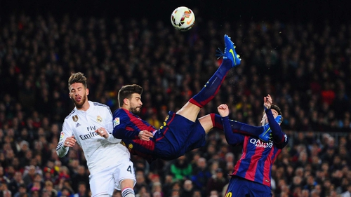 Gerard Pique feels reaching a fourth Champions League final in ten years has defined an era for Barcelona
