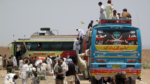 Pakistan - Rosita Boland's experiences on one of the public buses were particularly challenging