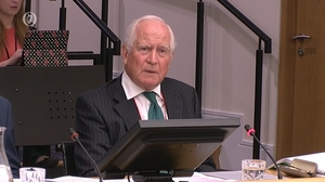 Liam Kelleher was appearing at the banking inquiry