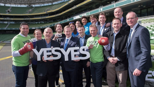 Enda Kenny said the referendum was not just about gay people but also their extended families and communities