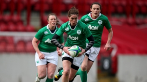 Ireland's Nora Stapleton in action during this season's Six Nations Championship