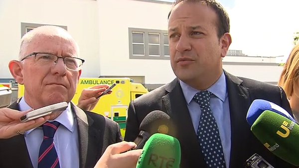 Leo Varadkar has said that patients and families were sometimes treated inhumanely at Portlaoise