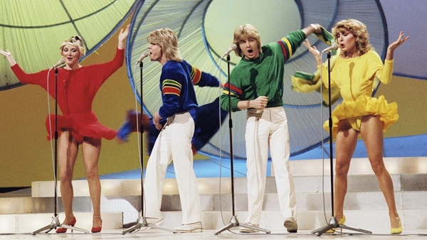 Bucks Fizz won the Eurovision Song Contest in 1981