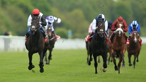 Golden Horn is a general 2-1 favourite for the Derby