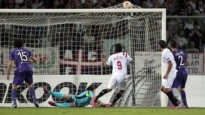 Carlos Bacca scores for Sevilla