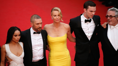Zoe Kravitz, Tom Hardy, Charlize Theron, Nicholas Hoult and George Miller