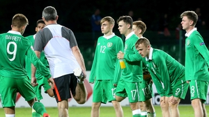 The Irish under-17 squad left Bulgaria with just one point