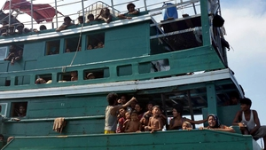 The migrants are believed to have come from Myanmar and Bangladesh