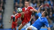 Adam Rooney's goalscoring form with Aberdeen has earned hi