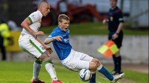 Celtic's Scott Brown (left) and St Johnstone's David Wotherspoon battle for the ball
