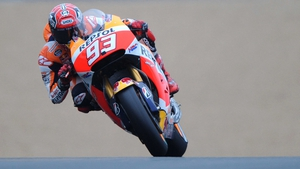 Marc Marquez was in sizzling form at Silverstone