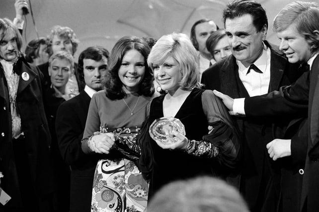 Séverine wins the Eurovision Song Contest (1971)