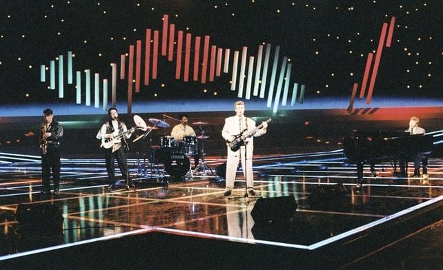 Jump the Gun represent Ireland in Eurovision (1988)