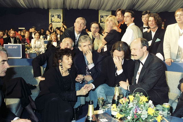 Irish Delegation during Eurovision voting (1994)