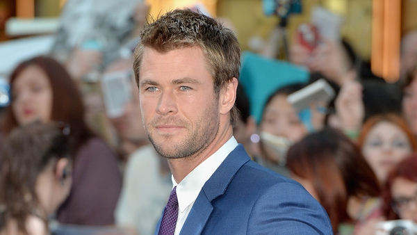 Hemsworth - Answering that famous phone