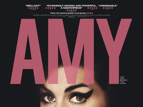 A promotional poster for Amy