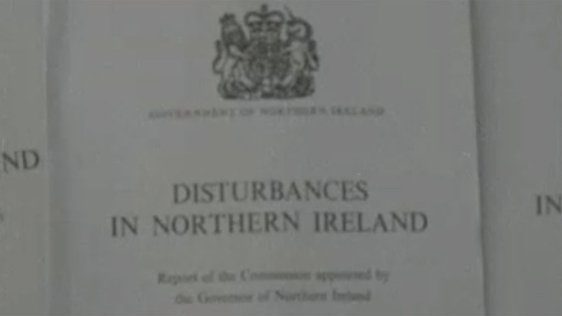 Cameron Commission Report on 'Disturbances in Northern Ireland'. The report was published on 12 September, 1969.
