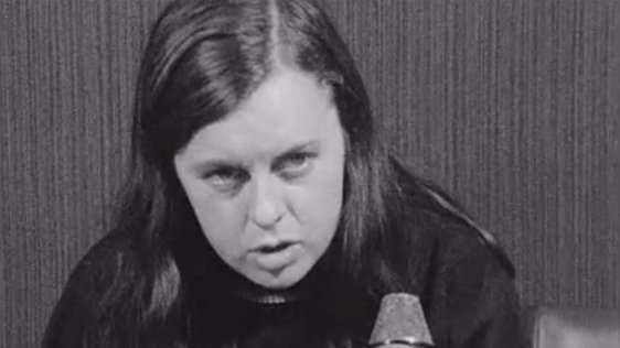 Bernadette Devlin gives her reaction to the publication of the Cameron Report on 12 September, 1969.