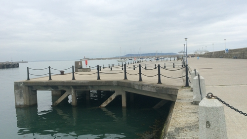 Dún Laoghaire Pier is visited by more than one million people annually