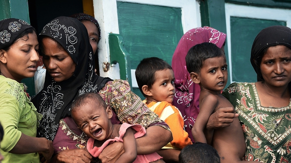 The boat carrying hundreds of Rohingya migrants has not been heard of since Saturday