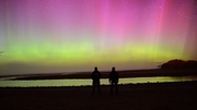 Spectacular display of the Northern Lights over Falcarragh (Pic: Michael O'Reilly)