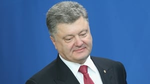 Petro Poroshenko said said the capture of Russian soldier proved Ukraine is fighting 'real war'