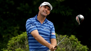 Padraig Harrington is suffering from a shoulder injury