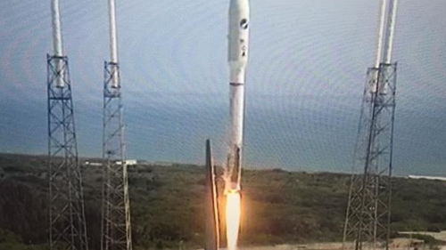 The Atlas V rocket carrying the LightSail has lifted off from Cape Canaveral