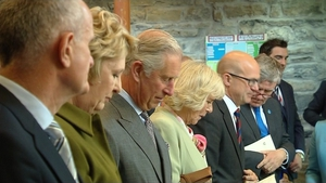 Prince Charles and the Duchess of Cornwall attend a service of peace and reconciliation