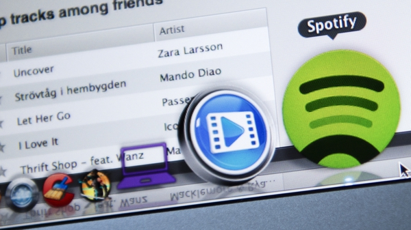 The number Spotify's active users rose by 19% from a year ago to €381m at the end of September