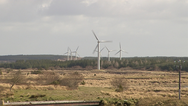 Permission had been sought to construct what would be the country's biggest wind farm in Co Mayo with 112 turbines