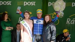 Ronan McLaughlin is the first county rider home on the day