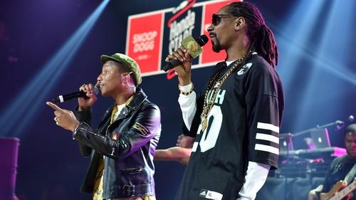 Watch! Stevie Wonder, Pharrell in Snoop video