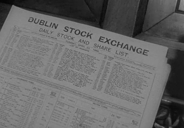 Dublin Stock Exchange Daily List