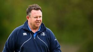 Matt O'Connor has been shown the door by Leinster
