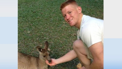 Thomas Keaney, 23, died in hospital ten days after the assault in Perth