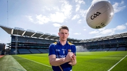 Longford footballer Michael Quinn at Croke Park