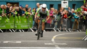 Aaron Gate wins his second stage of this year's An Post Rás