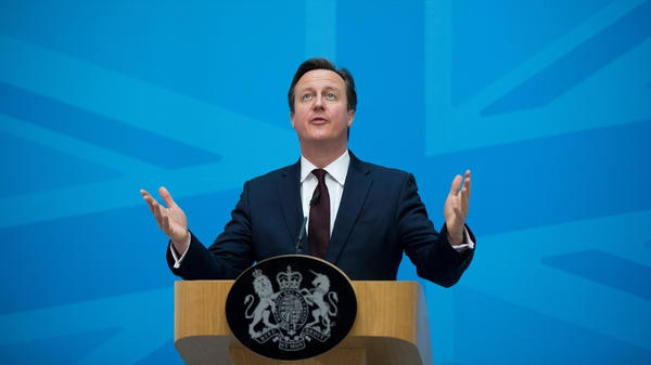 David Cameron backs staying in the EU as long as he can secure reforms such as controlling migration