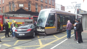 Figures show 14 collisions have occurred between vehicles and Luas trams so far this year