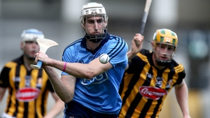 Peter Kelly in action for Dublin