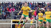 Donegal minor captain Michael Carroll