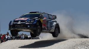 Jari-Matti Latvala leads the way in Portugal