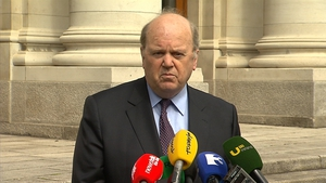 Speaking to the media today Minister Noonan said the banks have backed down in the face of sanctions
