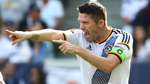 Robbie Keane was on the mark for LA Galaxy